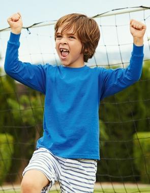 Детская Футболка с длинным рукавом KIDS LONG SLEEVE VALUEWEIGHT T