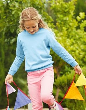 Детский свитшот KIDS CLASSIC SET-IN SWEAT