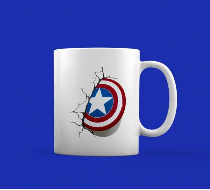 Кружка Капитан Америка