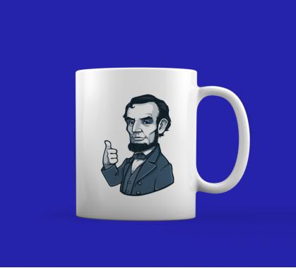 Кружка Аврам Линкольн
