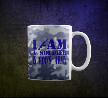 Кружка I am a soldier