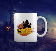Кружка Happy Halloween
