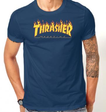 Футболка с принтом Thrasher