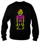 Свитшот с принтом Zombie
