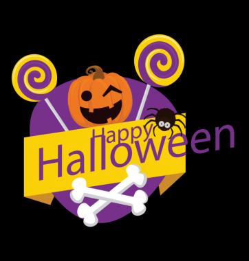 Свитшот с принтом Счастливого Хэллоуина