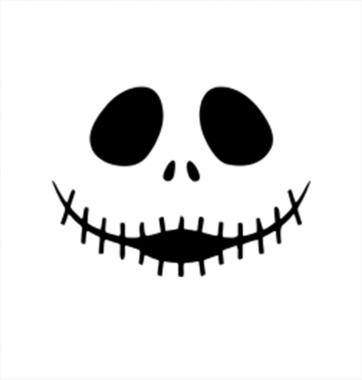 Свитшот с принтом Улыбка привидения