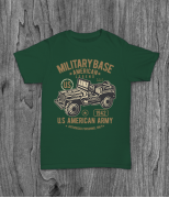 Футболка с принтом American Army Jeep