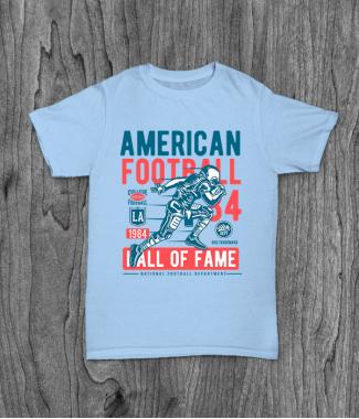 Футболка с принтом American Football
