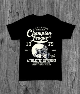 Футболка с принтом Champion League
