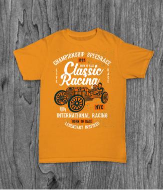 Футболка с принтом Classic Racing