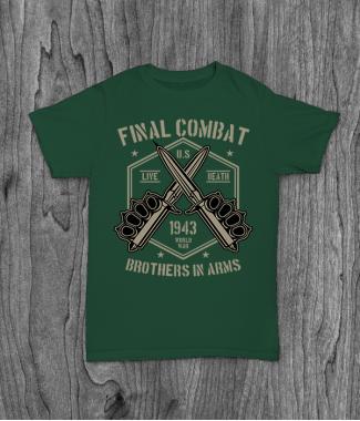 Футболка с принтом Final Combat
