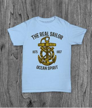 Футболка с принтом Ocean Spirit