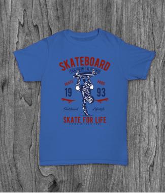 Футболка с принтом Skate For Life