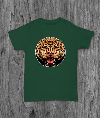Футболка с принтом Strength and Focus ( Jaguar Head )