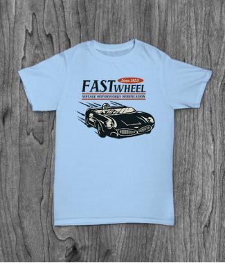 Футболка с принтом Vintage Racer Speed