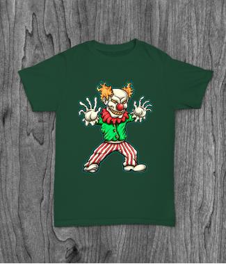 Футболка с принтом Evil Clown