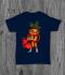 Футболка с принтом Super Carrot