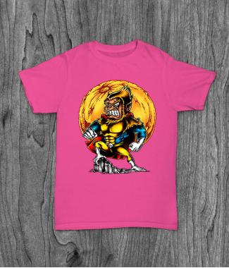 Футболка с принтом Super Monkey