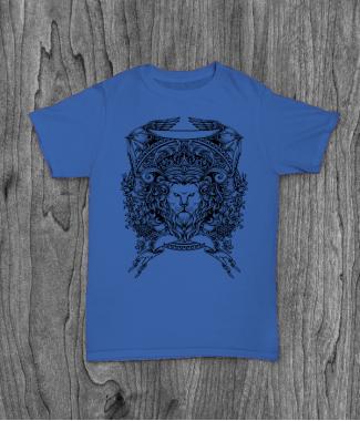 Футболка с принтом Lion Crest