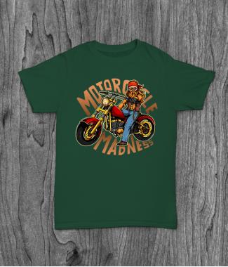 Футболка с принтом Motorcycle Madness