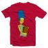 Футболка с принтом Мардж Симпсон
