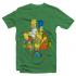 Футболка с принтом Семейка Simpsons