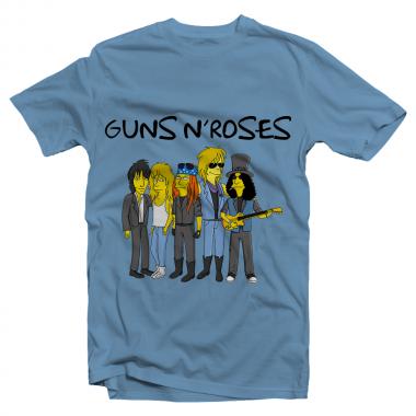Футболка с принтом Guns n'Roses