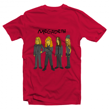 Футболка с принтом Megadeth