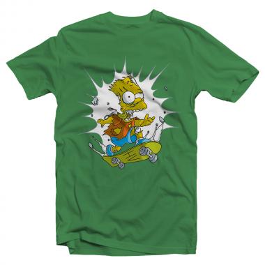 Футболка с принтом Bart
