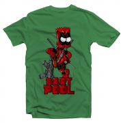 Футболка с принтом Bart Pool