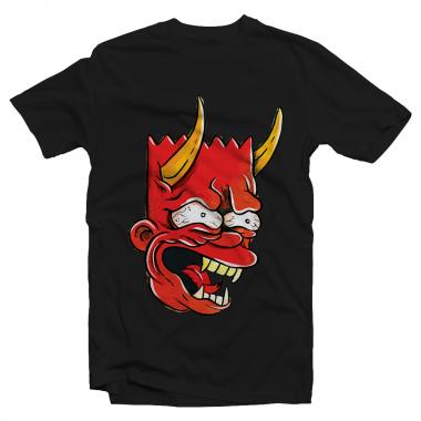 Футболка с принтом Bart Devil