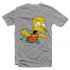 Футболка с принтом Летящий Барт