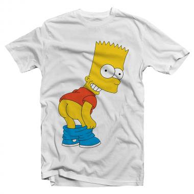 Футболка с принтом Bart's Bad