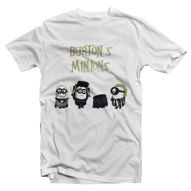 Футболка с принтом Burton's Minions