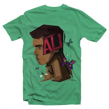 Футболка с принтом Muhammad Ali