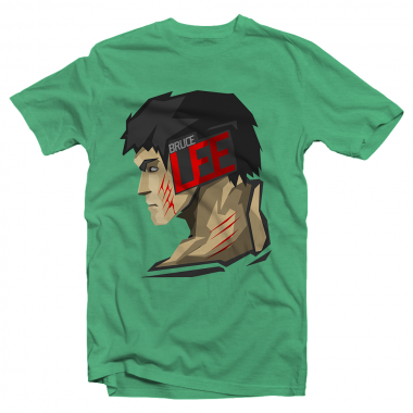 Футболка с принтом Bruce Lee
