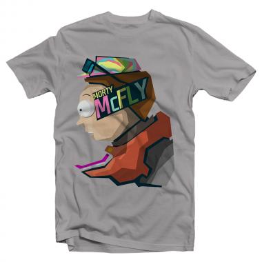 Футболка с принтом Morty McFly