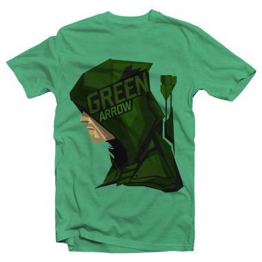 Футболка с принтом Зелёная Стрела