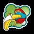 Футболка с принтом Bananas