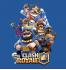 Свитшот с принтом Clash Royale