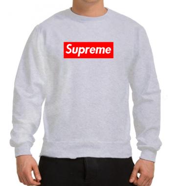 Свитшот с принтом Supreme