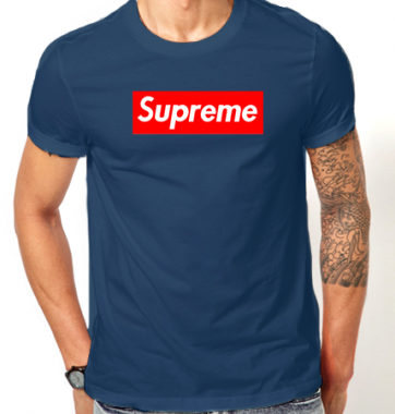 Футболка с принтом Supreme