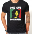 Футболка с принтом One Love Bob Marley