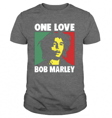 Футболка с принтом One Love Bob Marley