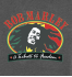 Футболка с принтом Bob Marley