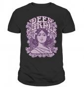 Футболка с принтом Deep Purple