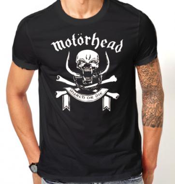 Футболка с принтом Motorhead