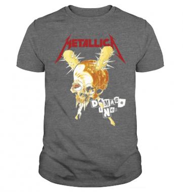 Футболка с принтом Metallica