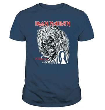 Футболка с принтом Iron Maiden