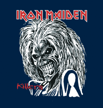 Женская футболка с принтом Iron Maiden